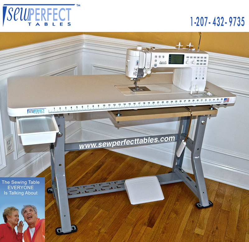 Sew Perfect Janome 6500 Sewing Table