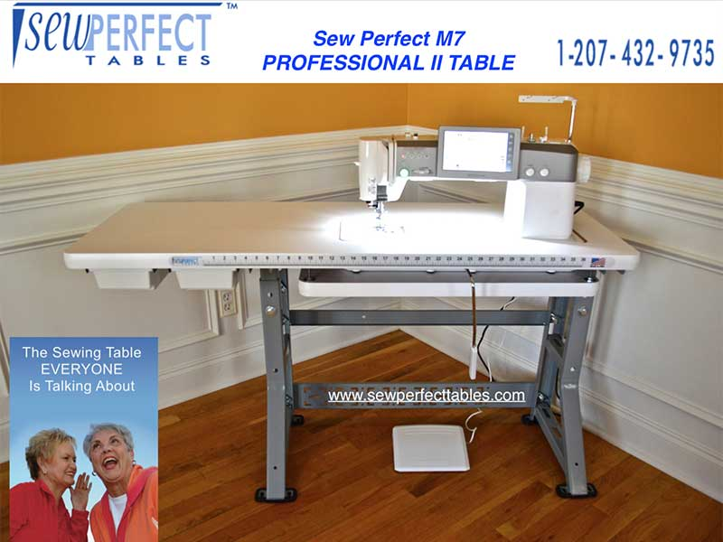 M7 Professional II Sewing Table