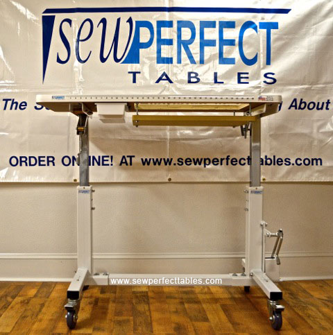Variable Height Sewing Table