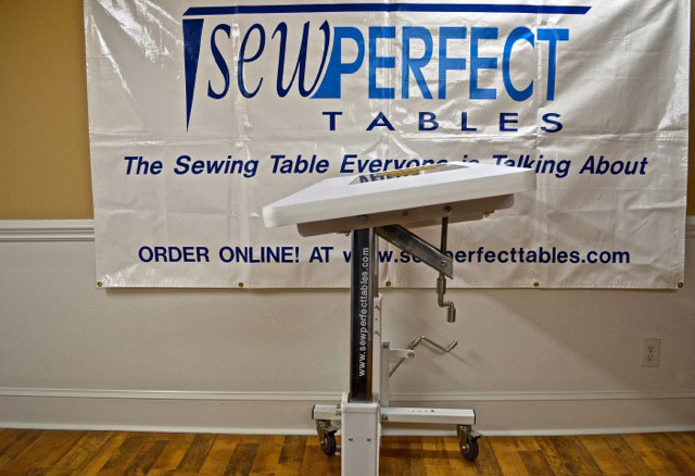 Sew Perfect Ergonomic Sewing Table
