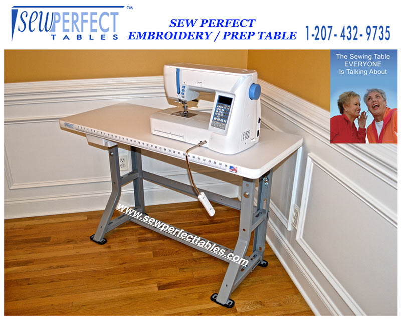 Sewing Tables Embroidery Table By Sew Perfect