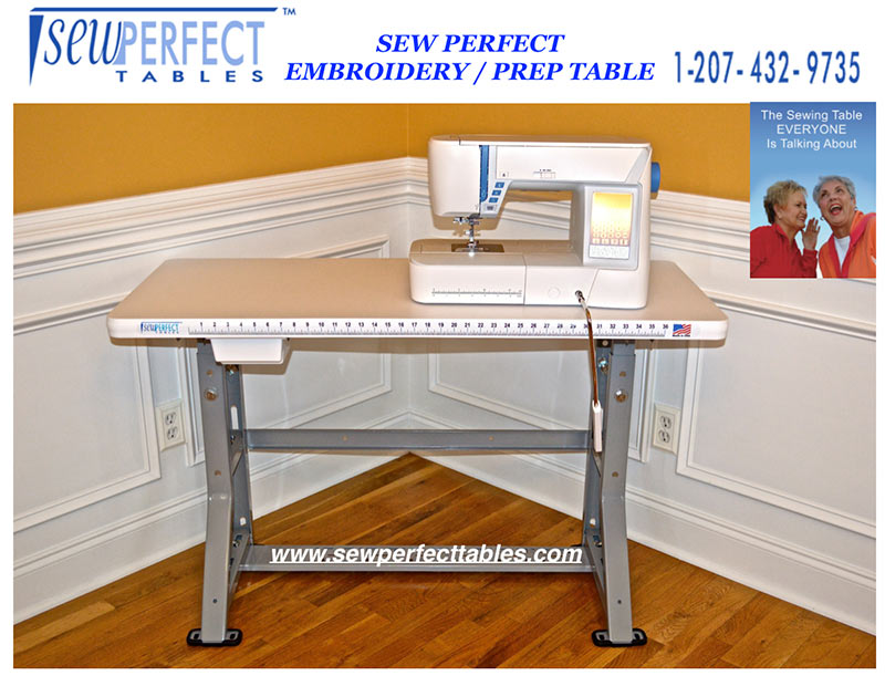 Sew Perfect Embroidery Table