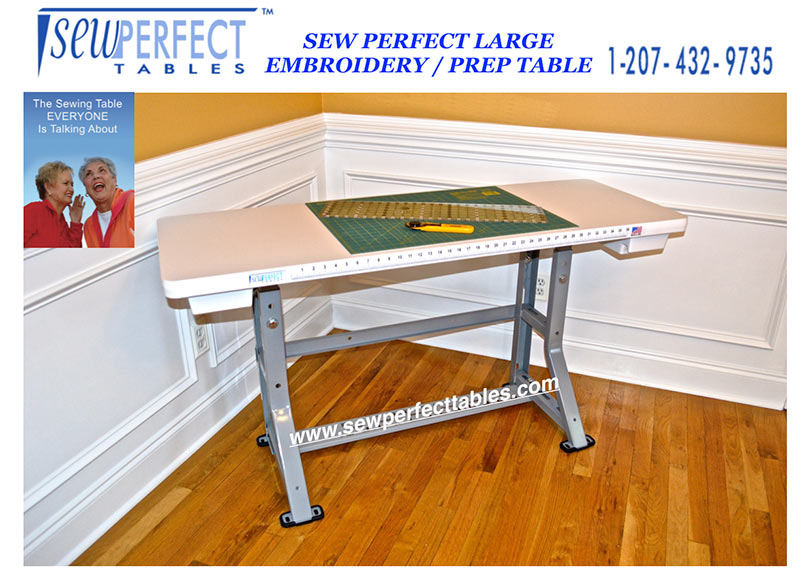 Sew Perfect Large Embroidery Table