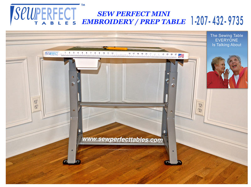 Janome Sewing preparation Tables