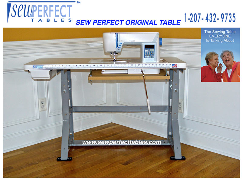 Sewing Tables The Original Sew Perfect Table