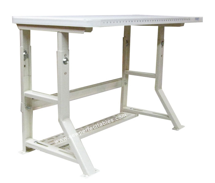 adjustable height sewing machine table